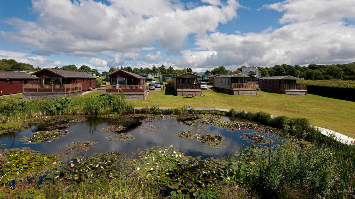 3 Star Lodges With Duck Ponds In Oban Scotland