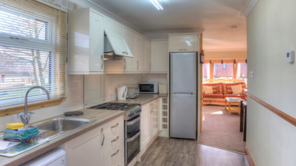 6 Berth Lodge Kitchen Oban Scotland