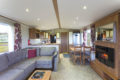 Summerbreeze front room and kitchen Oban Scotland