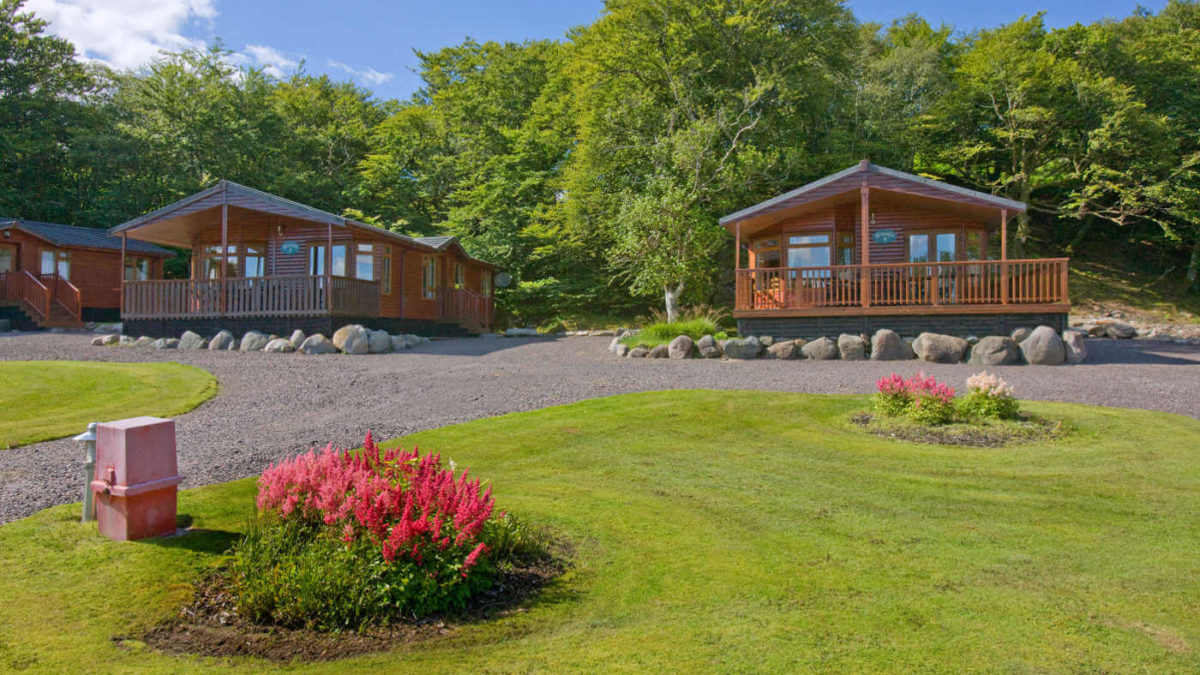 Woods 6 Birth Luxury Lodge